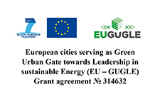 European cities serving as Green Urban Gate towards Leadership in sustainable Energy